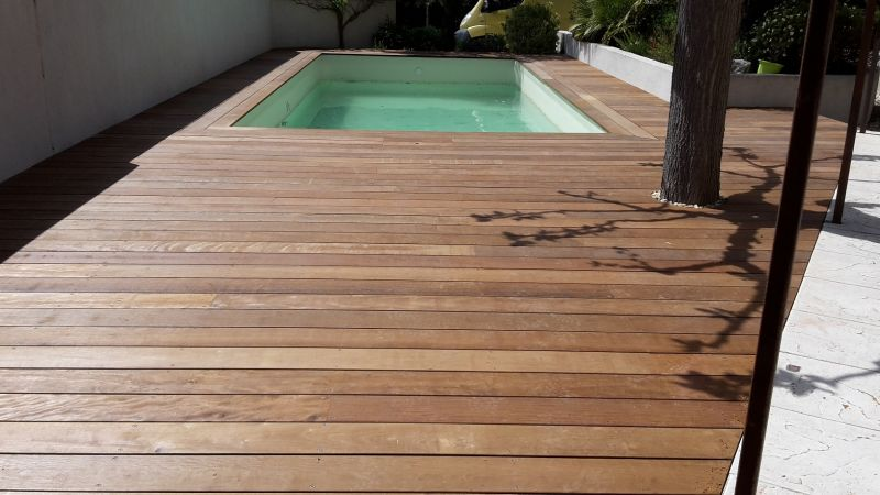 cr ation d 39 une terrasse bois d 39 itauba autour d 39 une piscine lan on de provence 13 patrice. Black Bedroom Furniture Sets. Home Design Ideas