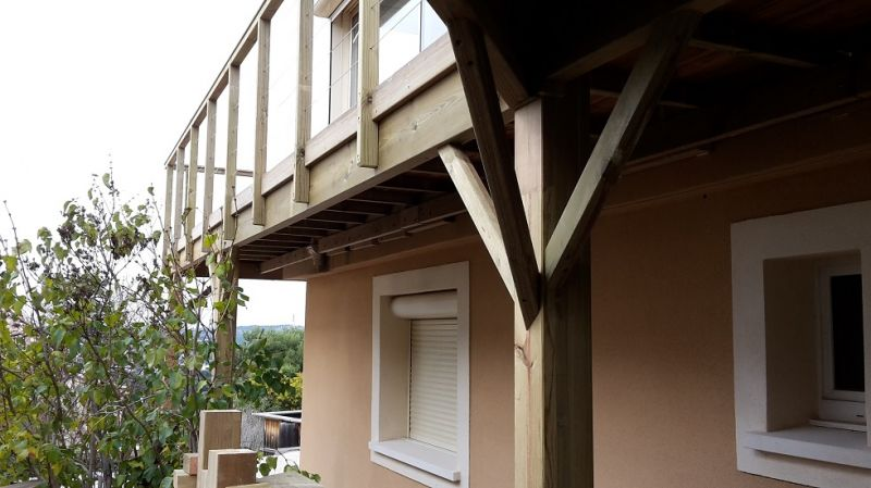 construction dune terrasse bois sur pilotis - Construction D Une Terrasse En Bois Sur Pilotis
