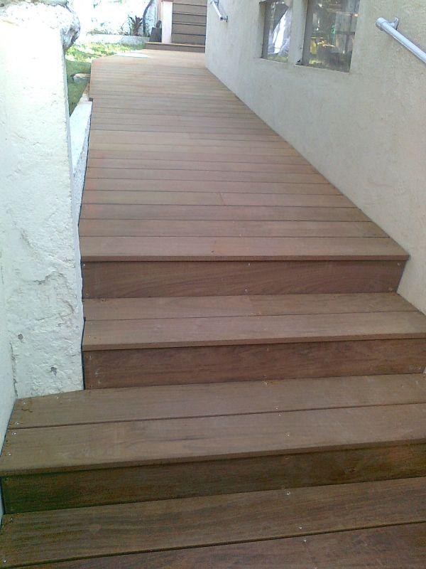 terrasses et escaliers en ip marseille sur une maison ancienne patrice meynier. Black Bedroom Furniture Sets. Home Design Ideas