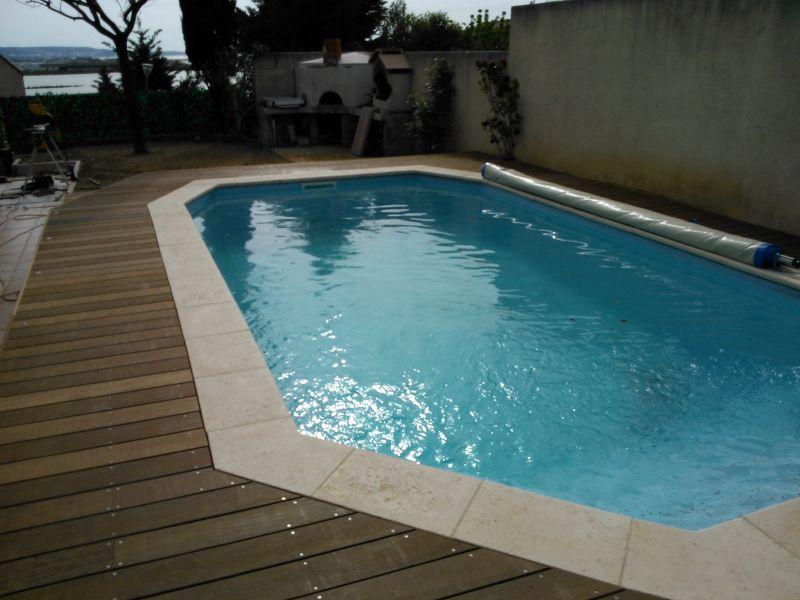 Tour de piscine en itauba sur vitrolles patrice meynier for Tour de piscine