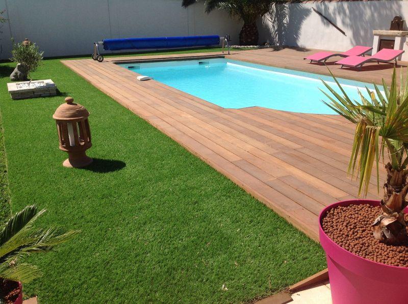 entourage de piscine en terrasse bois d 39 itauba sur fos sur mer patrice meynier. Black Bedroom Furniture Sets. Home Design Ideas