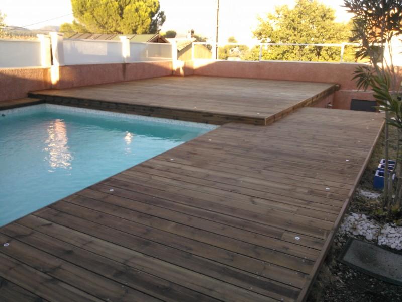 entourage de piscine en pin des landes autoclav classe 4 marseille patrice meynier. Black Bedroom Furniture Sets. Home Design Ideas