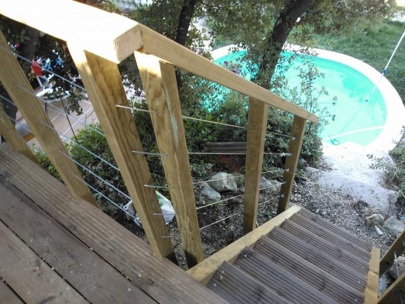 Terrasse Suspendue Dans Les Arbres  Sausset Les Pins   Patrice