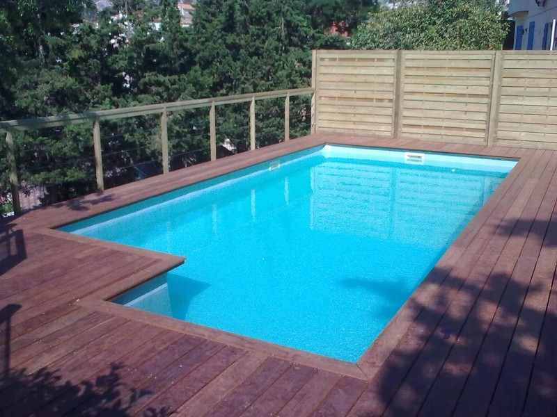 Cheap plage de piscine piscine en ip marseille with - Entourage piscine hors sol ...