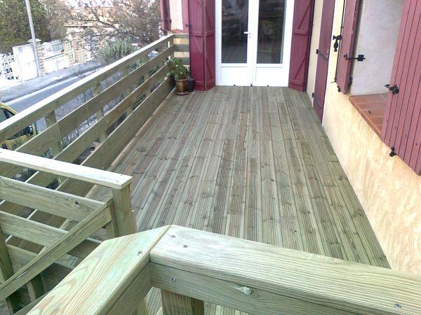 terrasse bois traite classe 4 diverses id es de conception de patio en bois pour. Black Bedroom Furniture Sets. Home Design Ideas