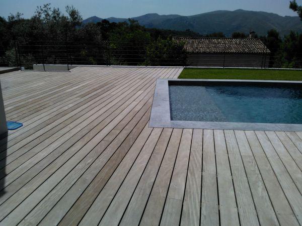 Realisation terrasse en bois Marseille Bouches du Rhone  Patrice