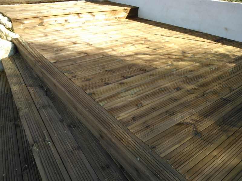pose de terrasse en bois marseille aubagne cassis la ciotat 13