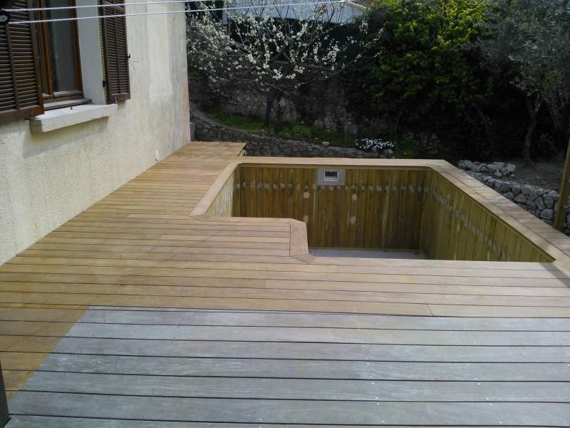 devis installation de pare soleil bois suspendu bouc bel air terrasses meynier. Black Bedroom Furniture Sets. Home Design Ideas